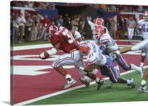 Alabama Photographs Touch Down Against the Florida Gators