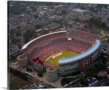 Alabama Pictures Crimson Tide at Bryant Denny Stadium on Game Day