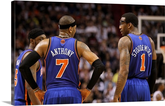 Amar&#39;e Soudemire and Carmelo Anthony