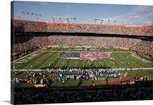 American Flag at Sun Life Stadium
