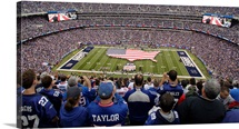 An American Flag at New Meadowlands Stadium