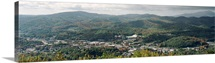Appalachian Pictures View of Campus from Howards Knob