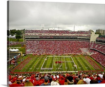Arkansas: Marching Band forms U-of-A at Razorback Stadium