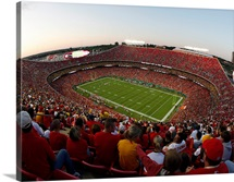 Arrowhead Stadium on Game Day