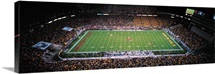 ASU Photographs Arizona State vs. Arizona Panorama