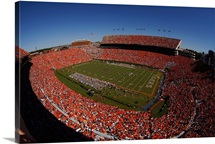 Auburn: A Sea of Orange at Jordan Hare Stadium