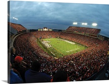 Auburn Photographs Jordan Hare Night Game