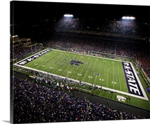 Auburn Tigers and the Kansas State Wildcats at Bill Snyder Family Football Stadium