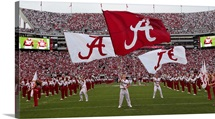 Bama Flags Fly on Game Day