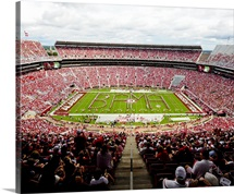 Bands Spells BAMA in Bryant - Denny Stadium