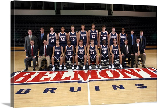 Belmont Pictures Belmont Bruins Basketball Team