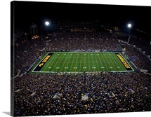 Black Out at Kinnick Stadium