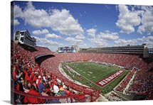 Camp Randall Stadium during a game between Wisconsin and Miami of Ohio