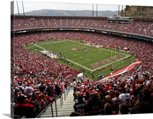 Candlestick Park on Game Day