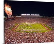 Clemson Tigers and the Florida State Seminoles at Bobby Bowden Field