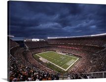 Clouds Roll Over Cleveland Browns Stadium