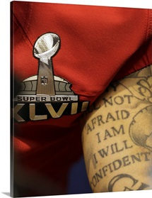 Colin Kaepernick during Superbowl XLVII