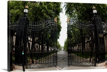 Columbia Pictures Gates Open to College Walk