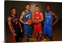 DeMar DeRozan, JaVale Mcgee, Blake Griffin, Serge Ibaka