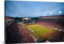 Donald W. Reynolds Razorback Stadium on Game Day
