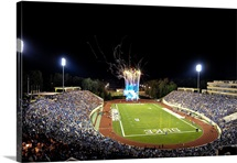 Duke: Fireworks at a Packed Wallace Wade Stadium