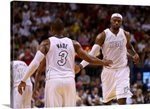 Dwayne Wade, LeBron James