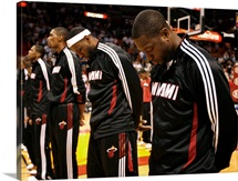 Dwyane Wade, LeBron James, Chris Bosh