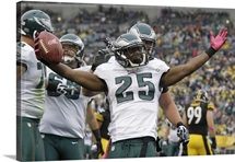 Eagles Steelers Football - LeSean McCoy