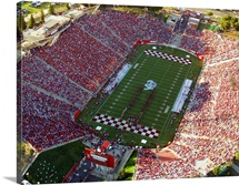 Fresno State: Aerial View of Bulldog Stadium