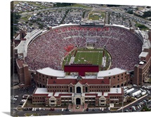 FSU Photograph Doak Campbell Stadium Aerial View