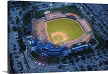 FSU Photographs Aerial of Rosenblatt Stadium