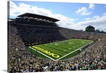 Game Day at Autzen Stadium
