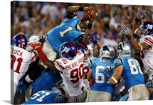 Giants Panthers Football