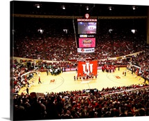 Indiana: Assembly Hall on Game Day