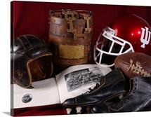 Indiana University Photographs Hoosier Football History
