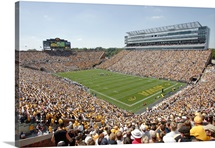 Iowa Pictures Kinnick Stadium on a Beautiful Day