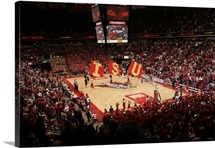 Iowa State Photographs Hilton Coliseum