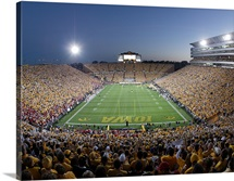 Kinnick Stadium, the Home of Iowa Football