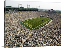 Lambeau Field on Game Day