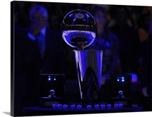 Larry O&amp;#39;Brien Championship Trophy at the Staples Center