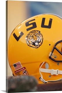 Louisana State University Pictures LSU Football Helmet