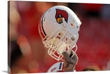 Louisville Cardinals Football Helmet