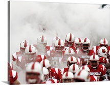 Louisville Photographs A Sea of Cardinal Helmets