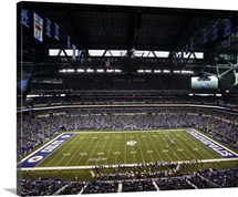 Lucas Oil Stadium, Indianapolis Colts play the Tennessee Titans in Indianapolis, 2013