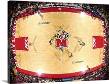 Maryland Basketball in the Comcast Center