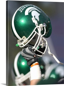 Michigan State Football Helmets
