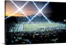 Mississippi State Photographs First Night Game at Davis Wade Stadium
