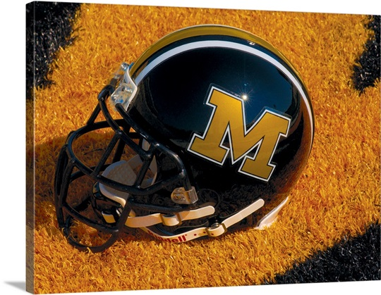 Missouri Football Helmet