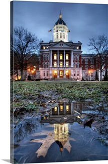 Missouri Photographs Jesse Hall Reflections