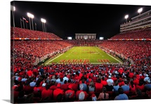 NC State: A Sea of Red at Carter-Finley Stadium